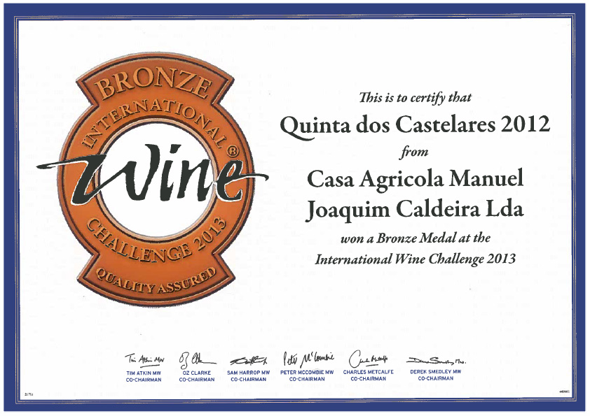 International Wine Challenge 2013