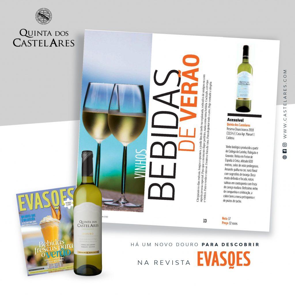 Clipping I Revista Evasões – Quinta dos Castelares