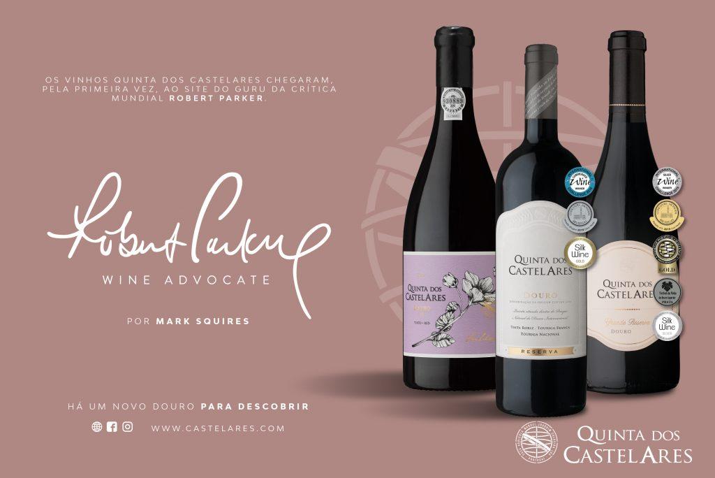 Quinta dos Castelares chega ao guru da critica mundial Robert Parker Wine Advocate