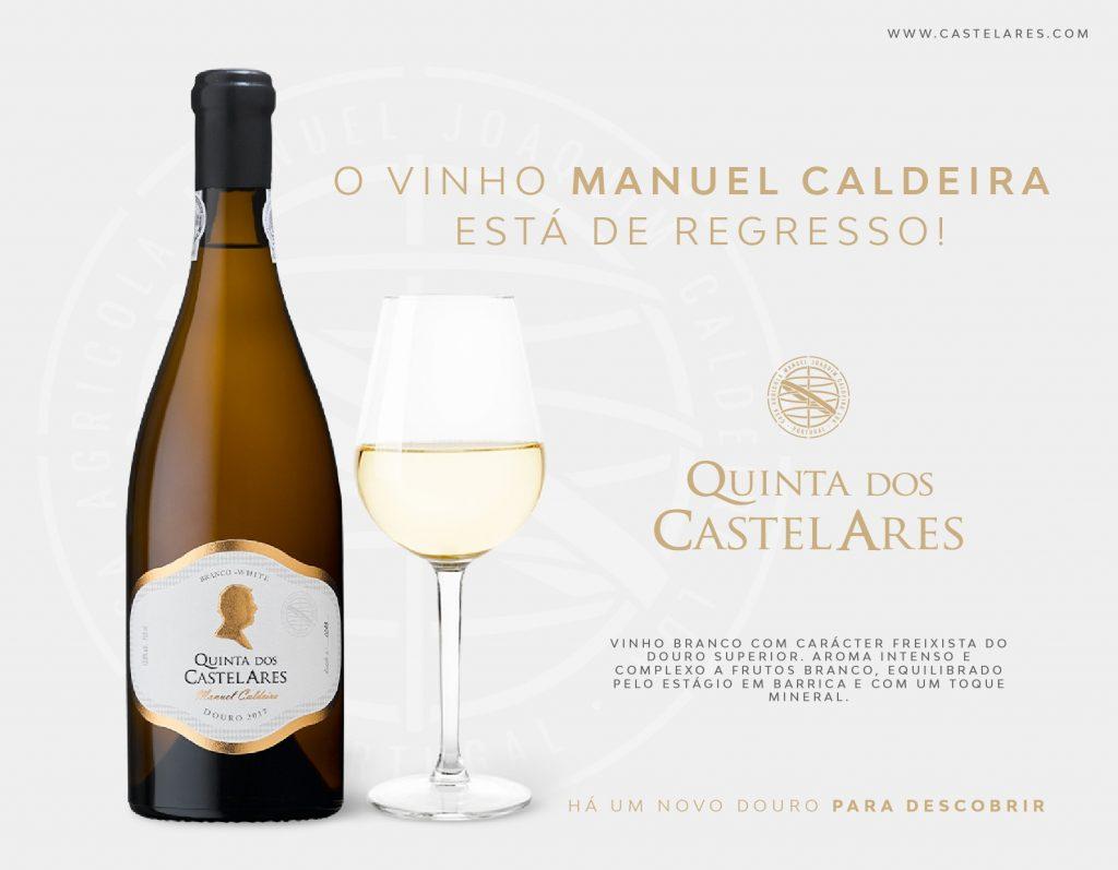 Quinta dos Castelares Manuel Caldeira está de regresso!