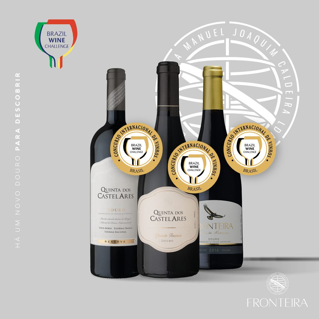 Brasil Wine Challenge - Quinta dos Castelares em destaque