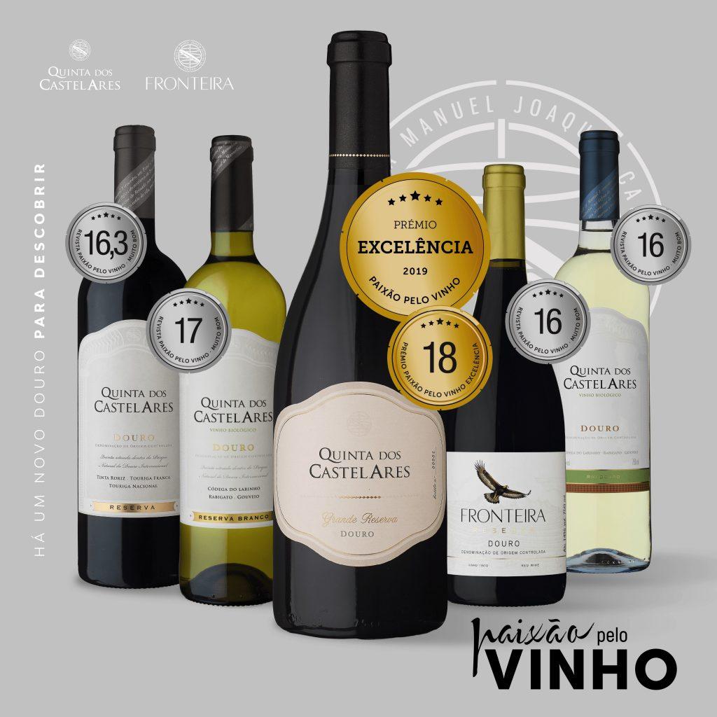 Quinta dos Castelares em destaque na revista Paixão pelo Vinho
