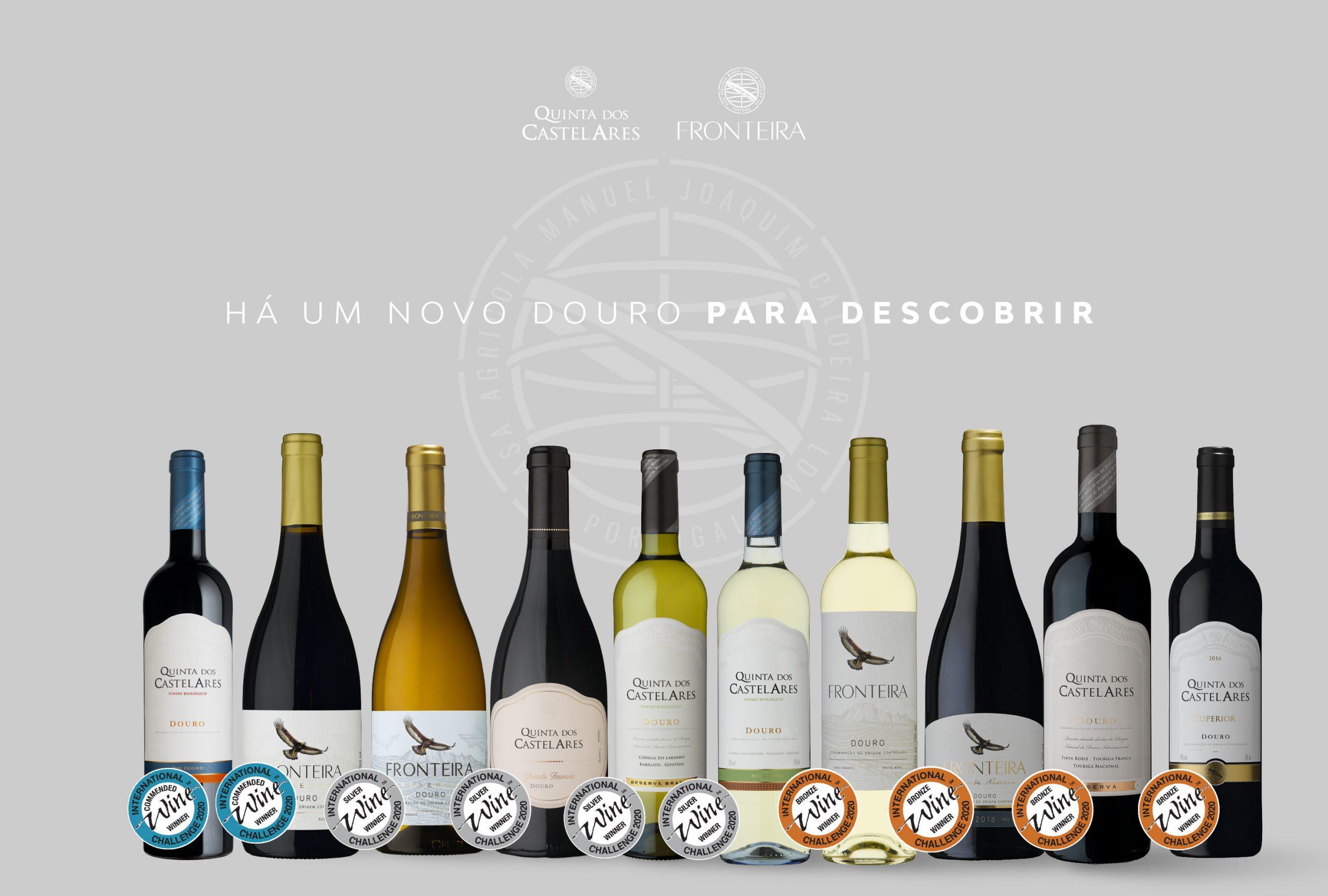 Quinta dos Castelares premiada com 10 medalhas no International Wine Challenger