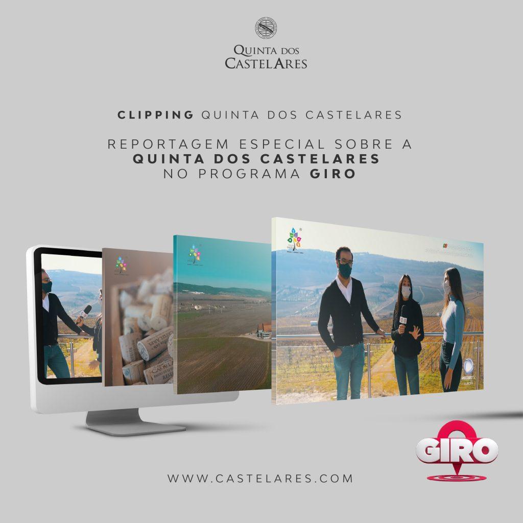 Quinta dos Castelares no programa GIRO (Record TV Europa)