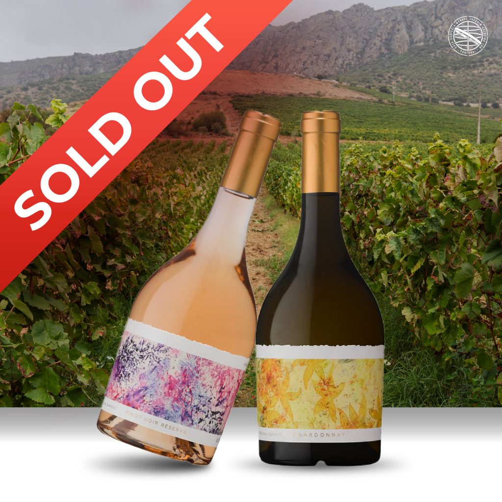 Pinot Noir Reserva e o Chardonnay | Sold Out